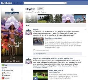 Megeve Facebook