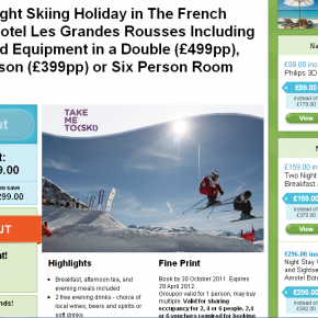 Can Groupon help the ski industry?