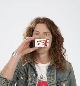 Shaun White now a minty chewing gum...