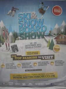 London Ski Show poster