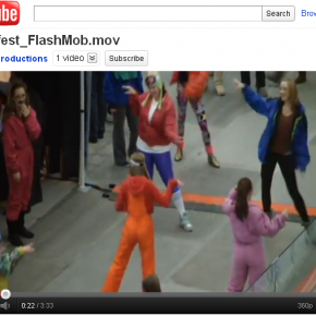 Calgary SnowFest flashmob shows the way...