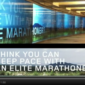 Great experiential campaign by Asics