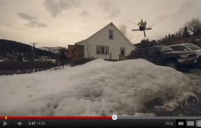 Skiing meets Parkour...with JP Auclair