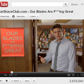 Old Spice and Dollar Shave Club up the ante for viral video