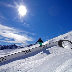 Oakley logo becomes part of the Cauterets Snow Park
