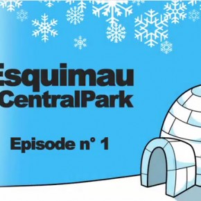 Thyon use an Eskimo in an igloo to create social media buzz