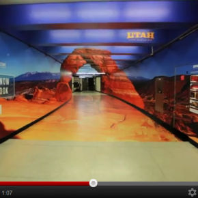 Utah Tourism launch unique ad campaign on San Francisco subway