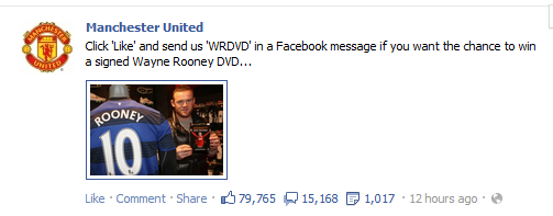 Facebook competition rules: if Manchester United break them, then should you too?