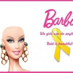 Mattel send Barbie bald after Facebook campaign