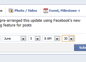 Facebook introduces scheduled posts and new admin categories