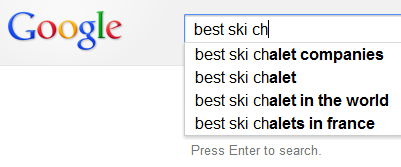 What can Google Autofill tell us about the ski industry?