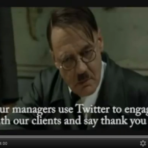 Hitler's take on the ROI of Social Media [Video]