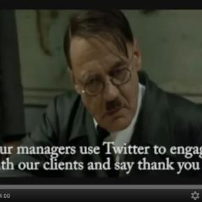 Hitler's take on the ROI of Social Media [Video]