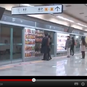 Tesco Korea increase online sales by 130% with QR campaign
