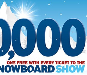 London Ski & Snowboard Show grab attention with lift pass giveaway
