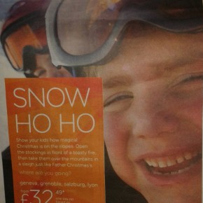 easyJet show ski industry how to sell Christmas in the Alps