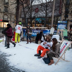 Intersport Ski Hire go underground with guerrilla marketing in Paris
