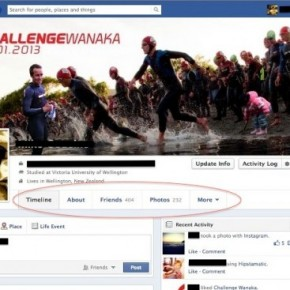 New Facebook Timeline tested in NZ