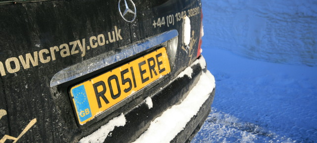 The Best Personalised Number Plates in the Alps...