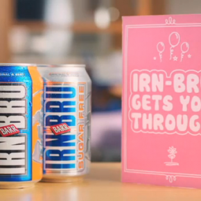 Irn-Bru Fanny demonstrates the power of Twitter
