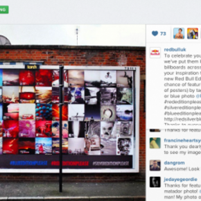Red Bull leverage Instagram with 'Inspiration' campaign