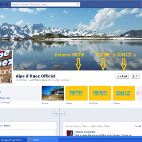 Alpe d'Huez introduce great new Facebook cover photo
