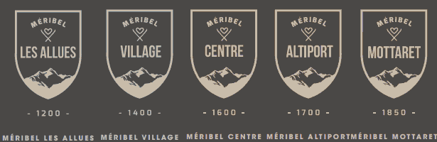 Meribel villages logo