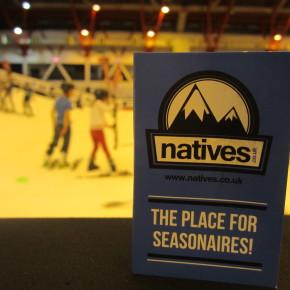 Natives use interns to increase awareness at London Ski Show
