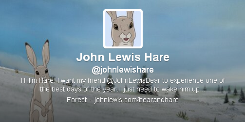 Hare has over 5000 followers...