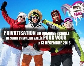Serre Chevalier offer exclusive ski day for Facebook fans