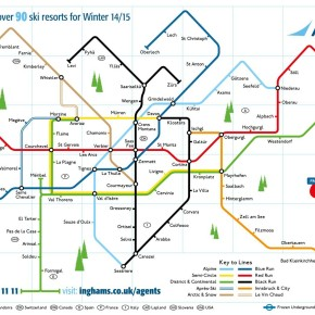 Inghams marketing win with Tube map goggle wipe