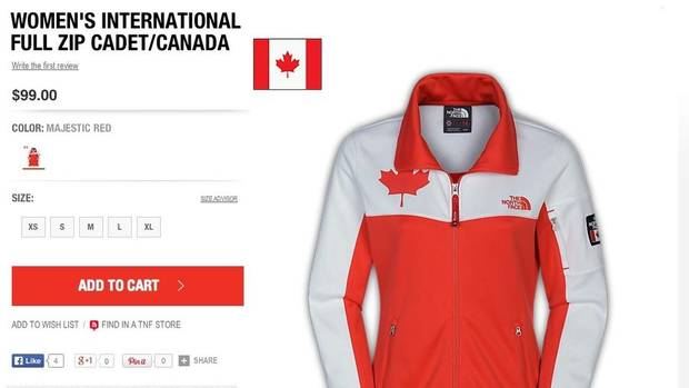 north face canada