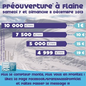 How Grand Massif went from 2800 Facebook fans to 10000 in one week...