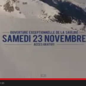 Courchevel use YouTube to drive early season 'ouverture exceptionnelle'