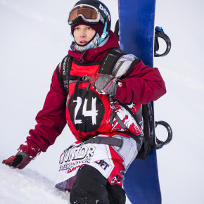 British Snowboarder Jake Terry Aims to Emulate Olympic Success on Junior Freeride World Tour