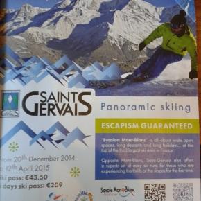 Saint Gervais: '3rd France ski area'...