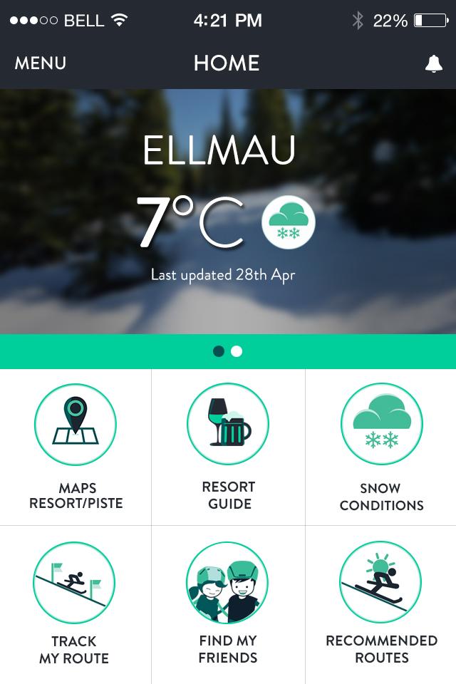 crystal ski explorer app