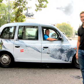 'I had that Austrian Tourism in the back of my cab once...'