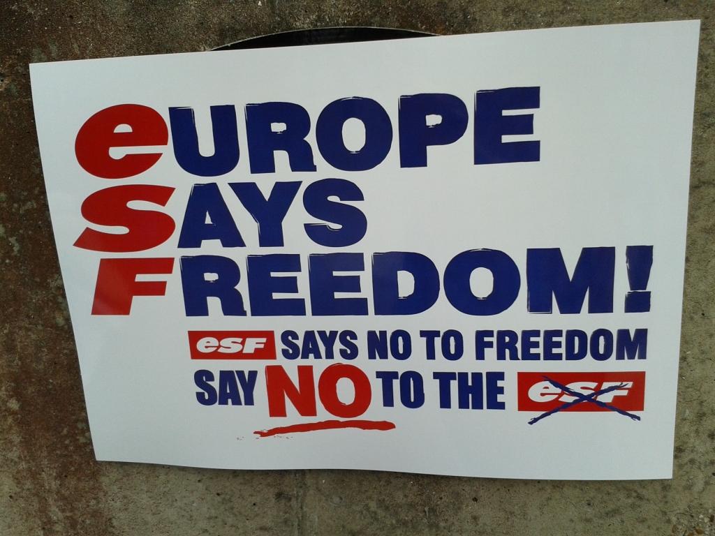 europe says freedom