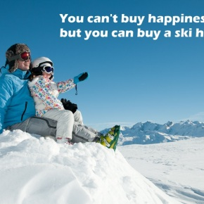 You can't buy happiness, but you can buy a ski holiday.