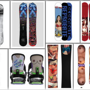 Why It's Not Cool To Make Sexist Snowboards (& six other thoughts)