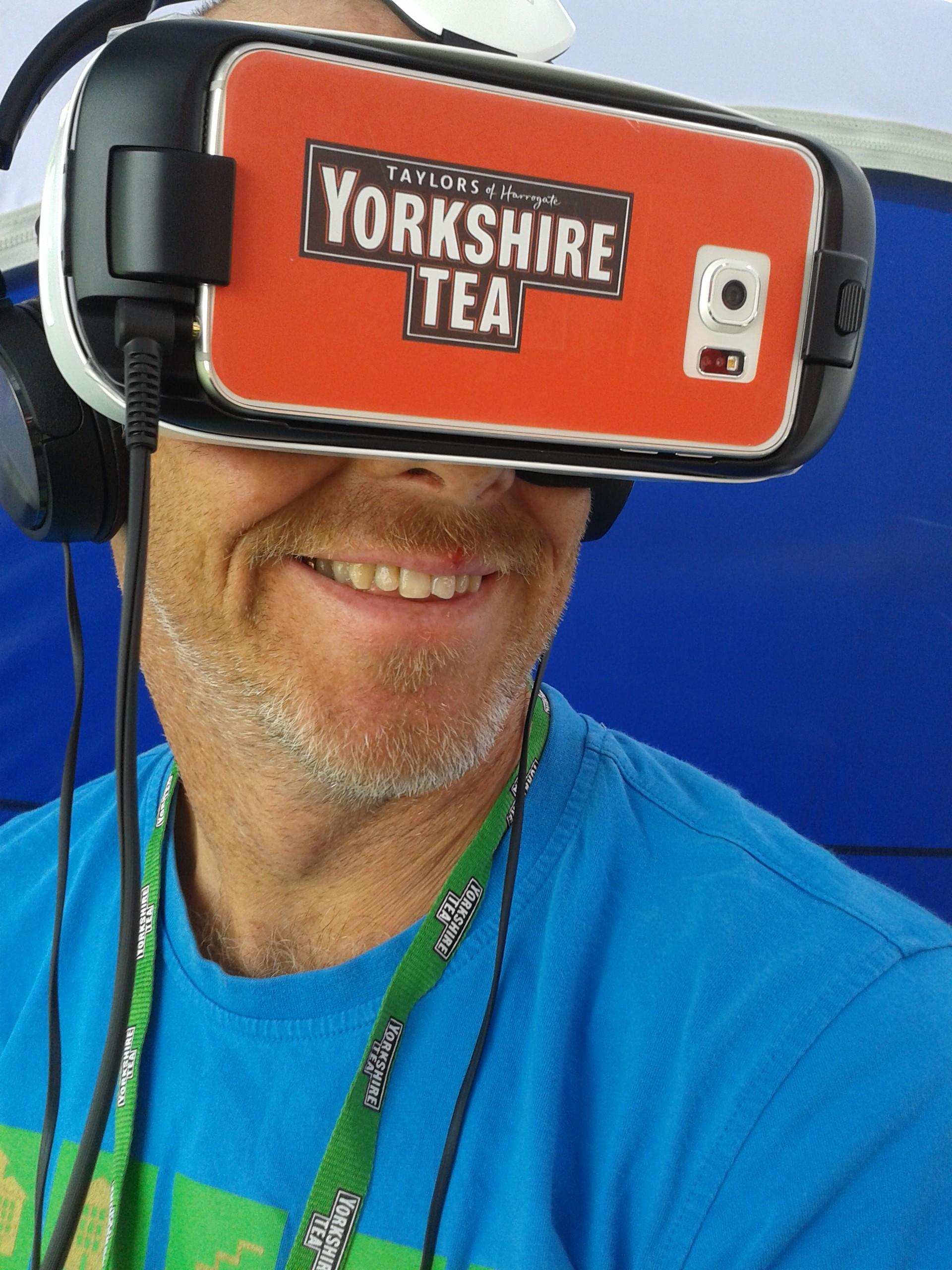 cricket oculus rift experience