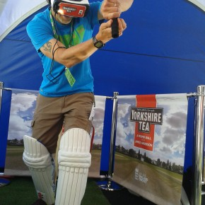 Yorkshire Tea virtual reality cricket misses a chance
