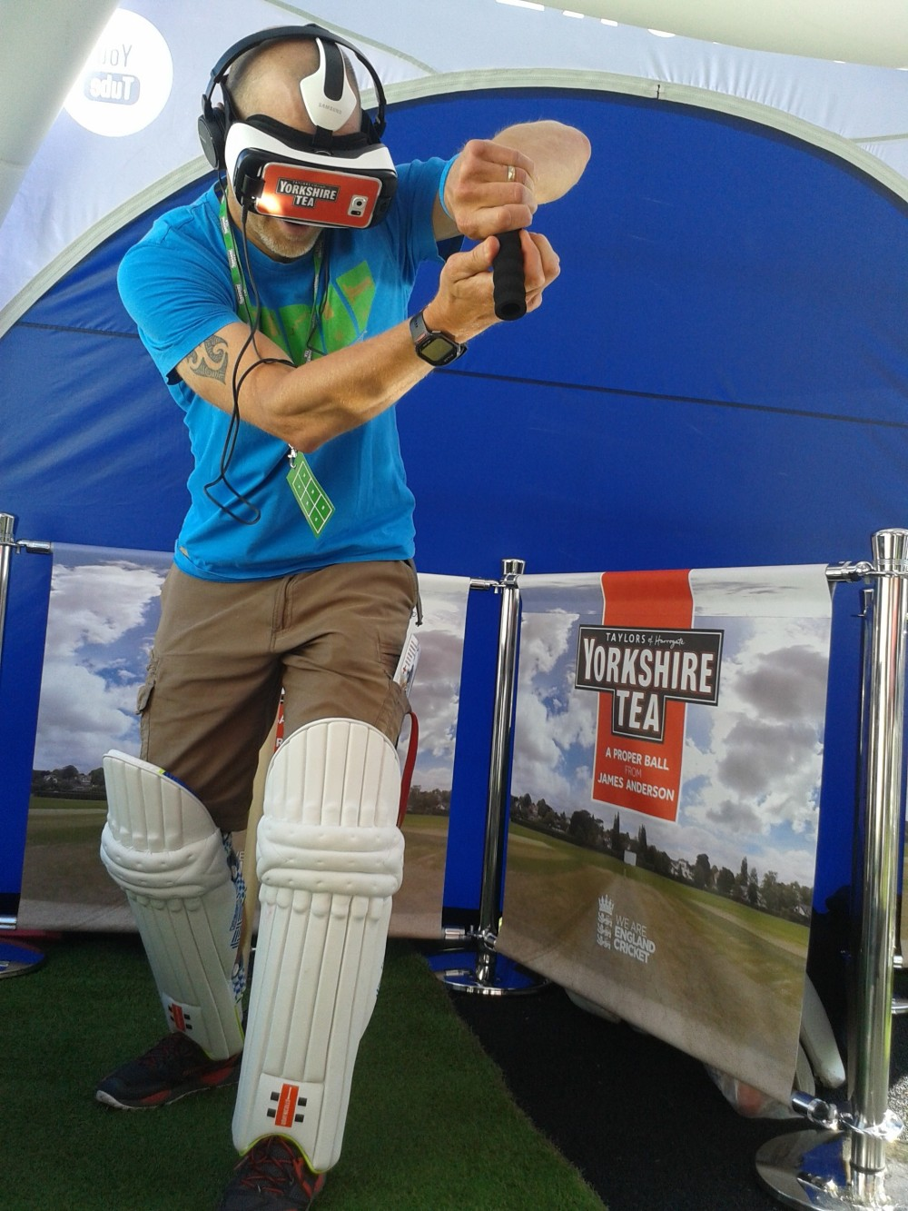 virtual reality cricket