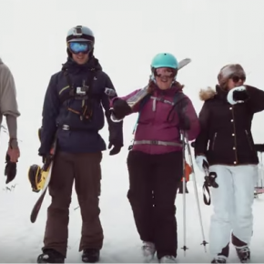 Crystal Ski staff star in their new viral video