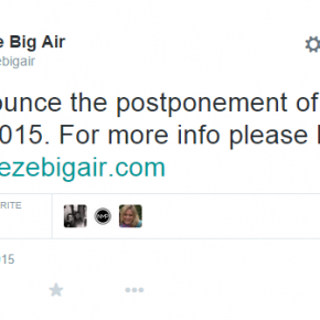 Freeze Big Air Festival in London postponed