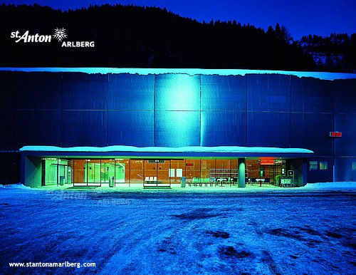 The amazing St Anton bahnhof