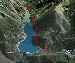 la grave map diversion