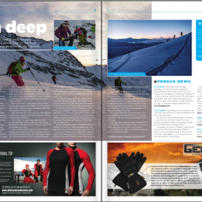 Val Thorens article by Skipedia in 'Skier & Snowboarder Magazine'