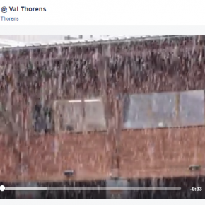 What was Val Thorens' most successful Facebook post last winter?